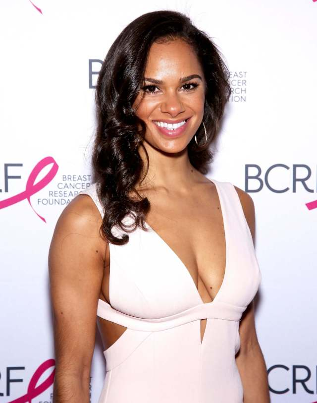 Misty Copeland sexy cleavage