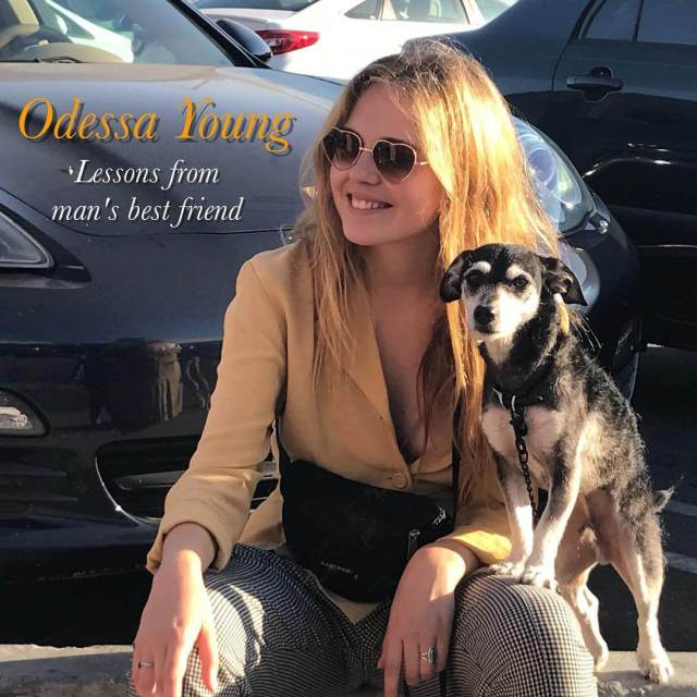 Odessa Young hot lip