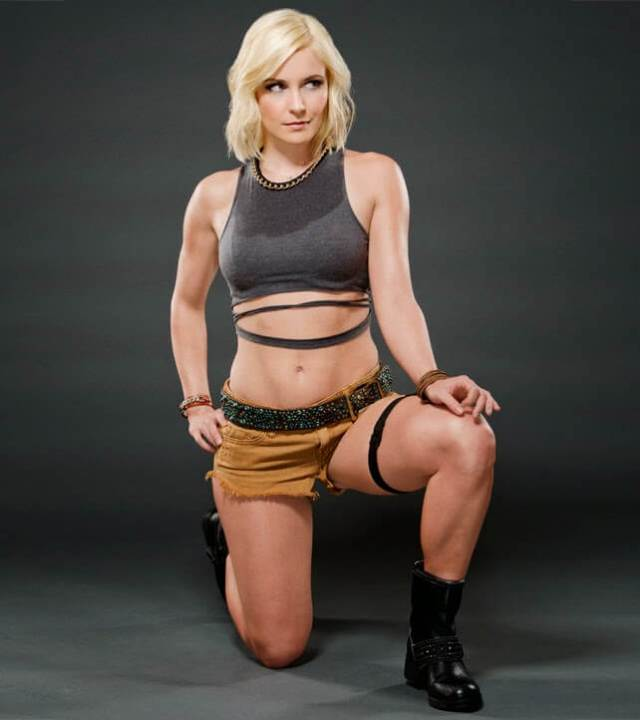 Renee Young sexy busty photo