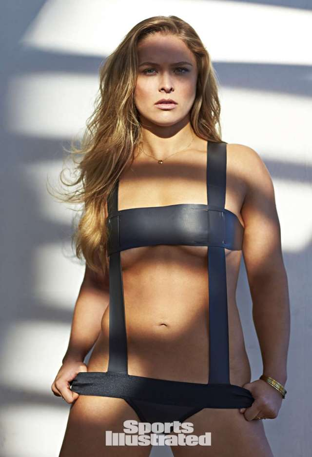 Ronda Rousey Sexy Big Boobs Pictures