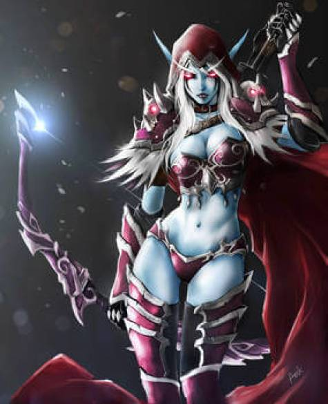 Sylvanas awesome cleavaegs pics
