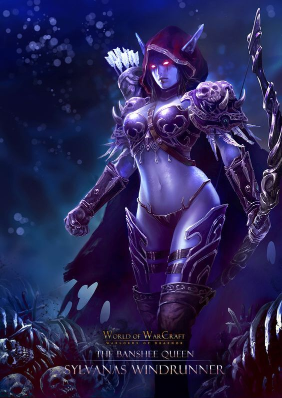 Sylvanas awesome picture (2)