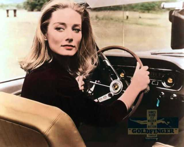 Tania Mallet awesome photo