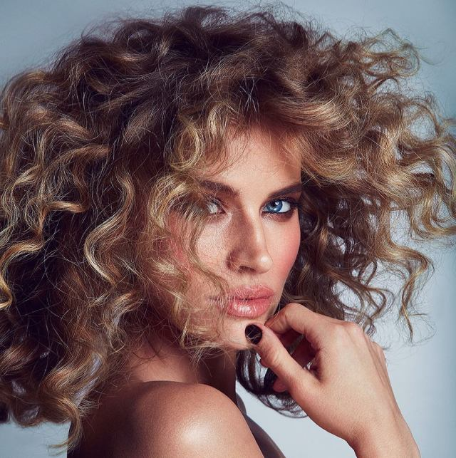 Tanya Mityushina Curly Hair