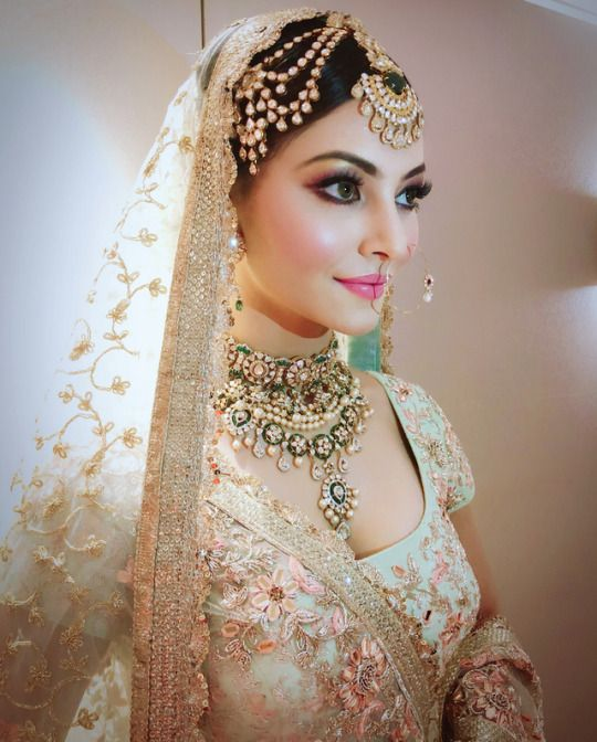 Urvashi Rautela on Wedding Dress