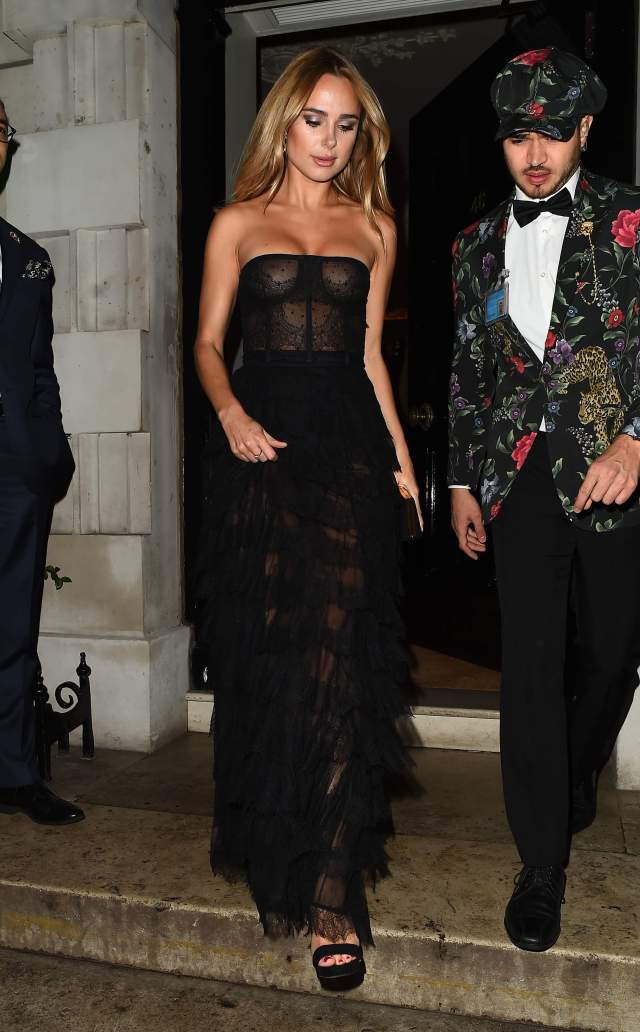 kimberley garner black dress