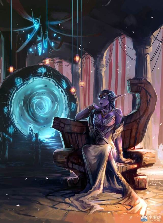 queen azshara awesome art