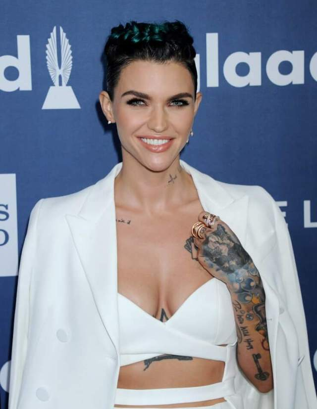ruby rose cleavage pictures