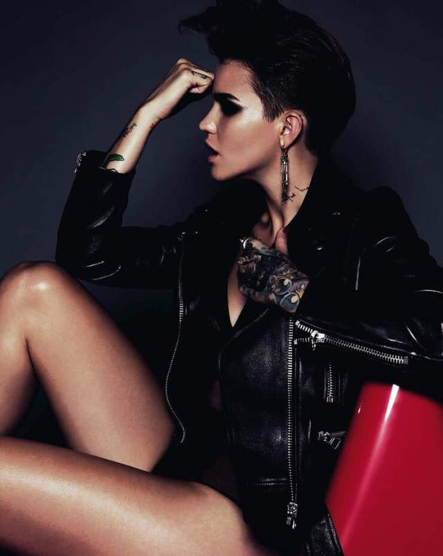 ruby rose hot thighs