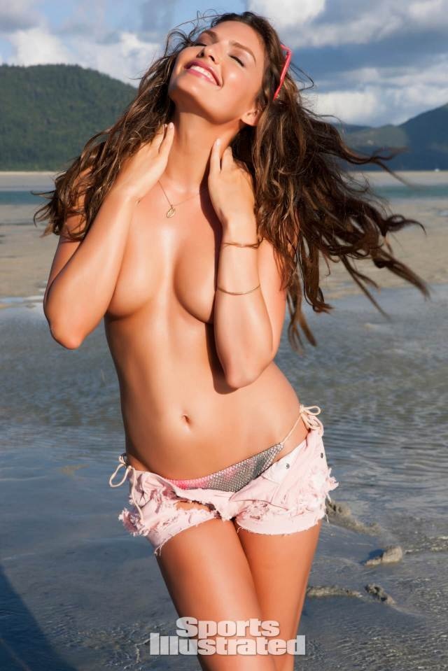 Alyssa Miller topless photo
