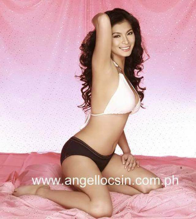 Angel Locsin hot side pics