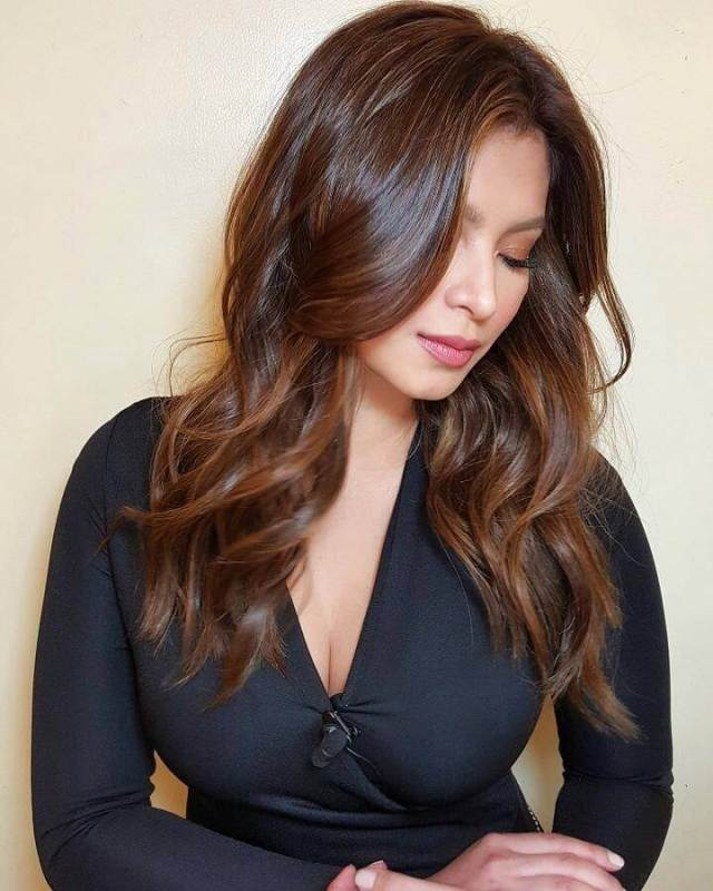 Angel Locsin sexy cleavage photo