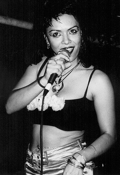Annabella Lwin on Stage