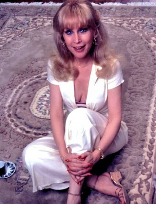 Barbara Eden SEXY WHITE DRESS