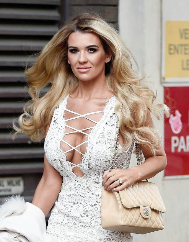 Christine McGuinness hot cleavage pic