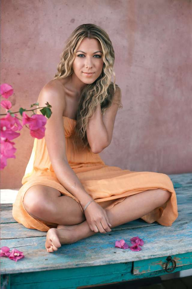 Colbie Caillat hot legs