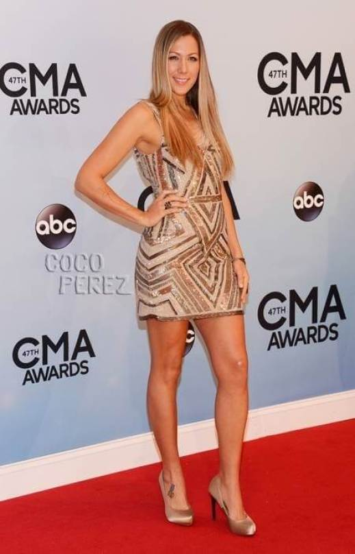 Colbie Caillat thighs