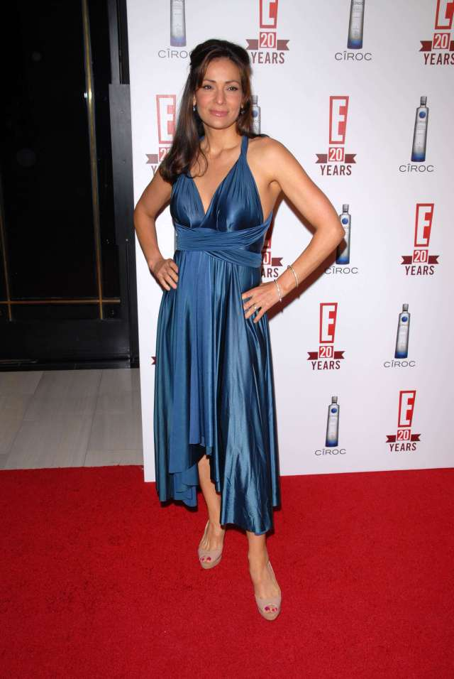 Constance Marie sexy cleavage