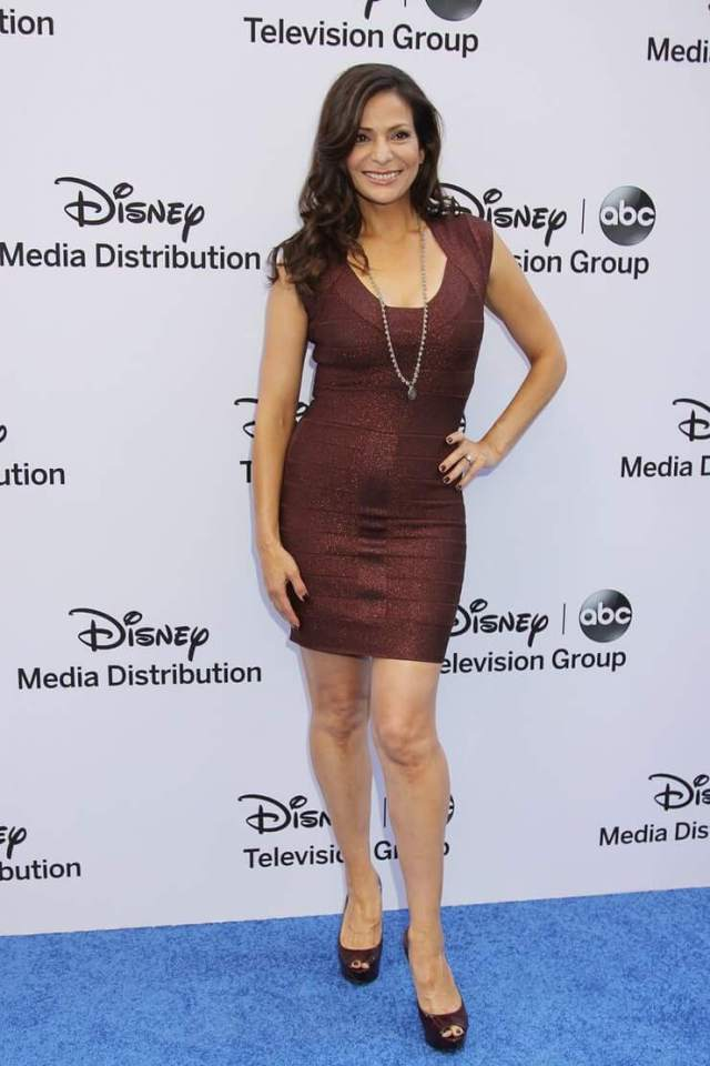 Constance Marie sexy feets