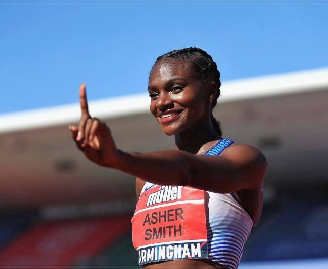 Dina Asher-Smith awesome photo
