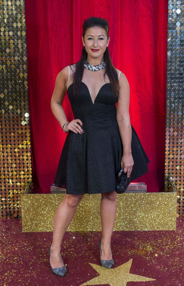 Hayley Tamaddon sexy cleavages pic