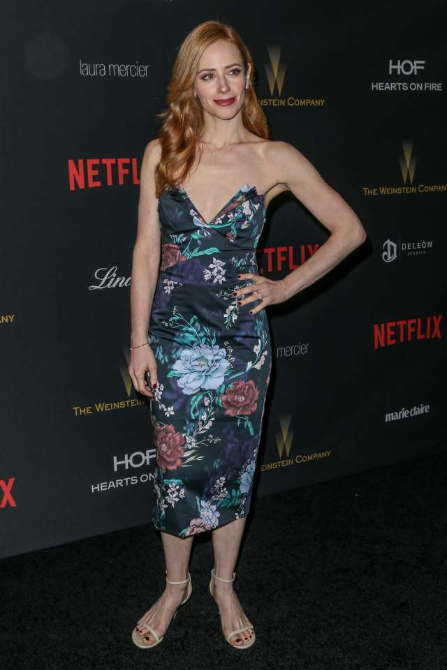 Jaime Ray Newman cleavages