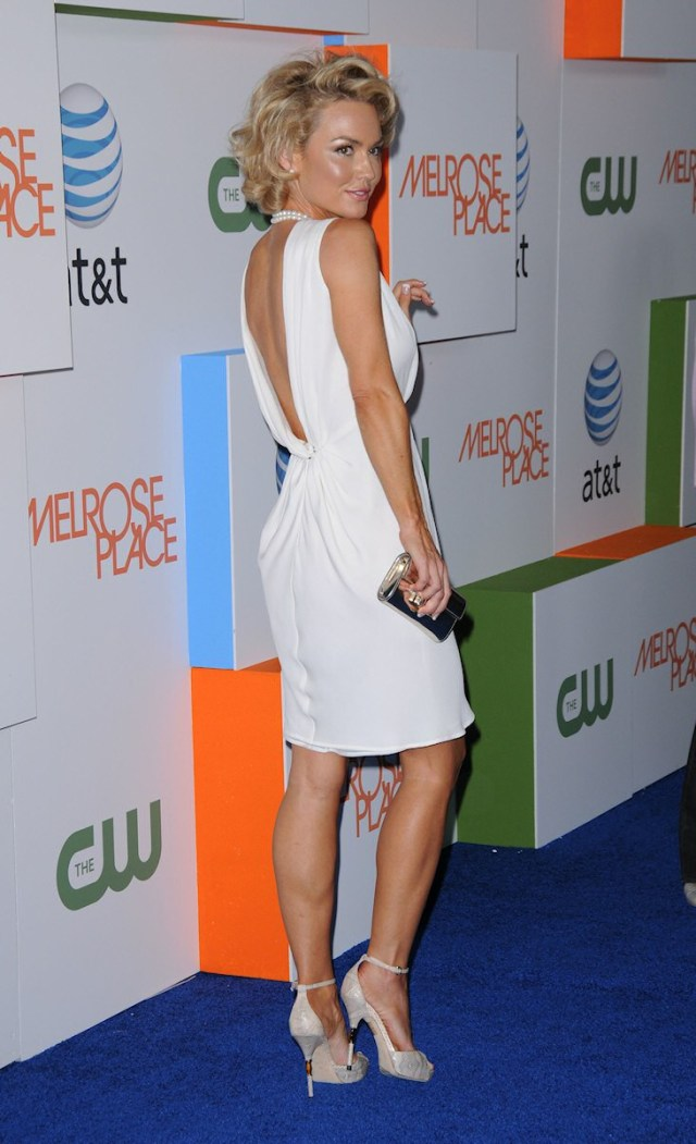 Kelly Carlson Hot in Short Dress