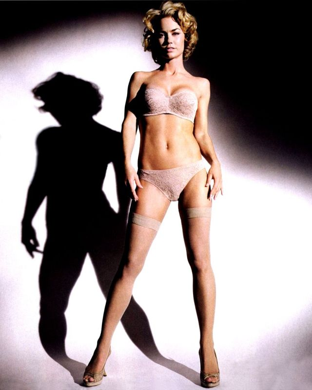 Kelly Carlson Hot in White Bikini