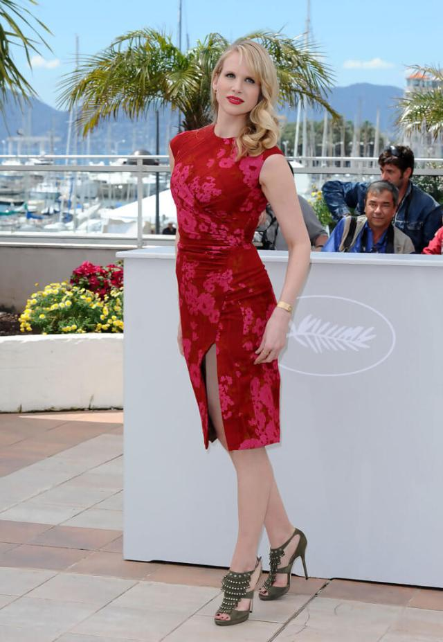 Lucy Punch hot red dress pics