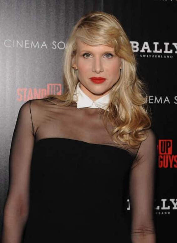 Lucy Punch sexy red lips