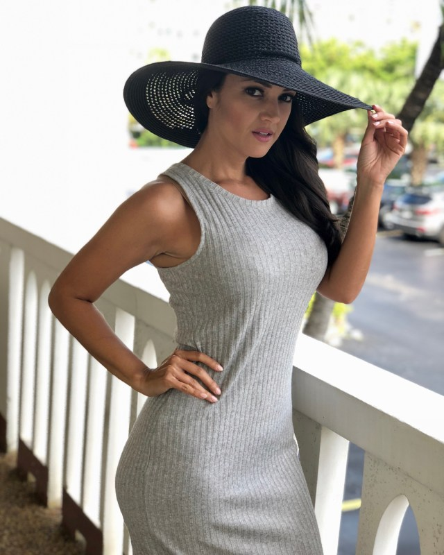 Paula Garces Hot in Hat