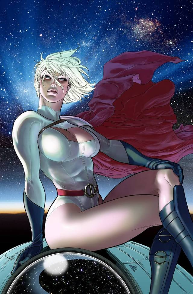 Power Girl awesome