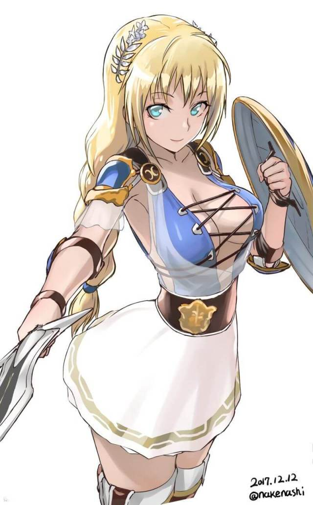 Sophitia sexy cleavage pics