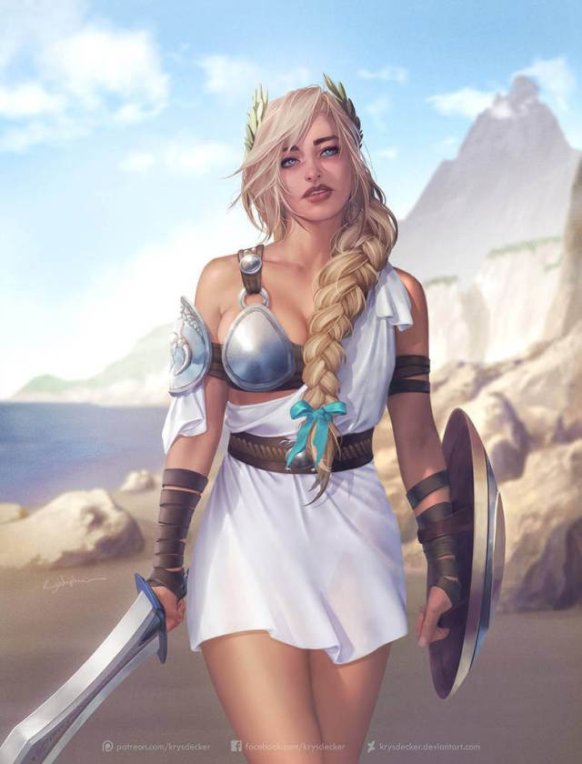 Sophitia sexy look pic