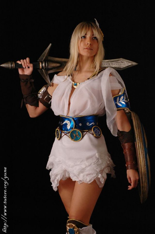 Sophitia sexy thighs pic