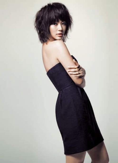 Yoon Eun-hye sexy side picture