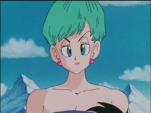 bulma short hair