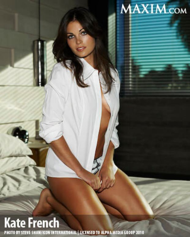 kate french sexy thighs