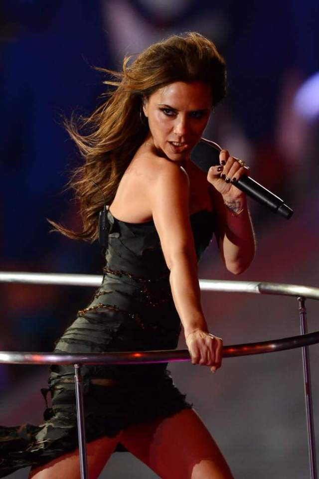 victoria beckham hot side picture
