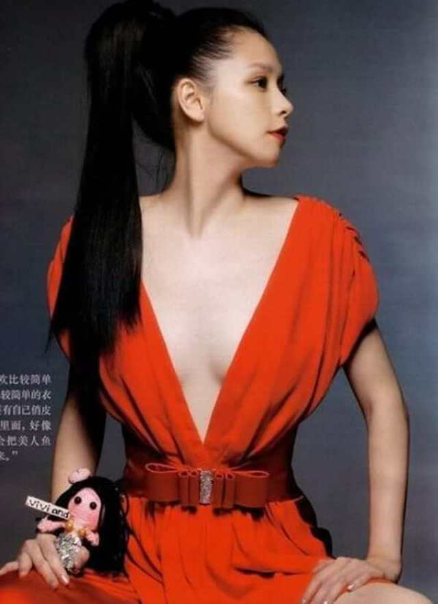 vivian hsu hot cleavage