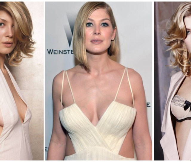 Sexy Rosamund Pike Boobs Pictures Will Make You Want To Play