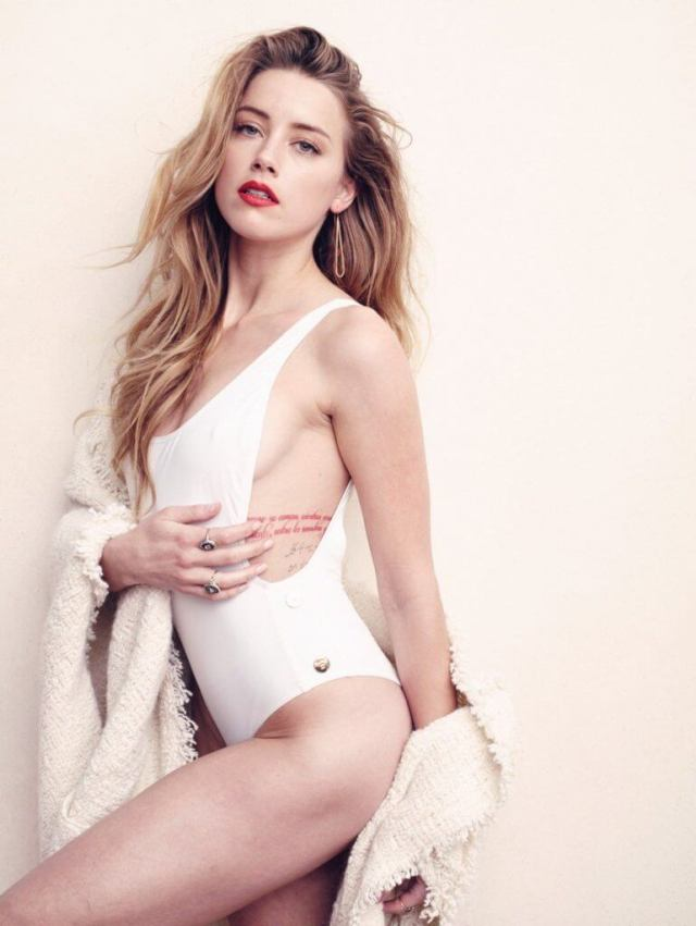 Amber Heard sexy side picture (2)