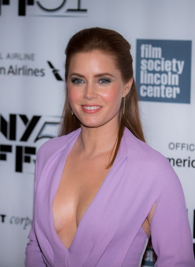 Amy Adams hot cleavage