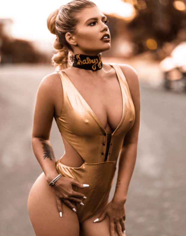 Chanel West Coast cleavages photo