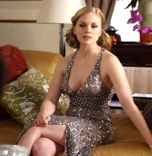 Christina Cole hot cleavage picture