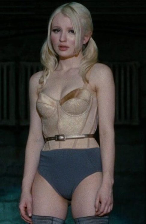 Emily Browning hot busty pictures