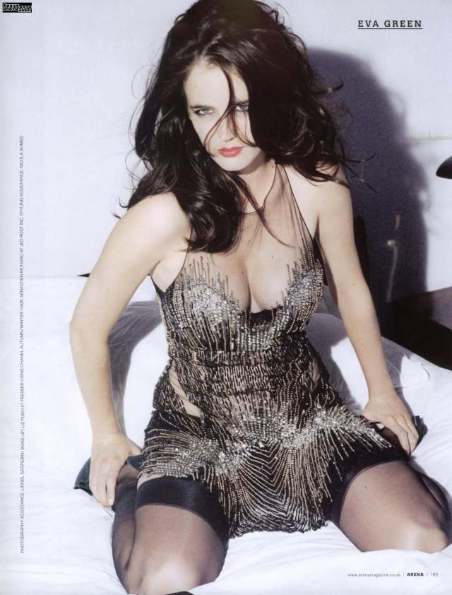 Eva-Green-hot-cleavage-