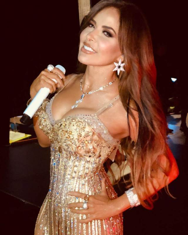 Gloria Trevi sexy busty pictures