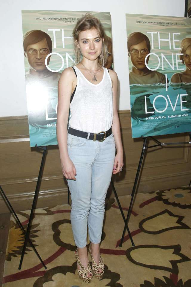 Imogen poots sexy jeans pic