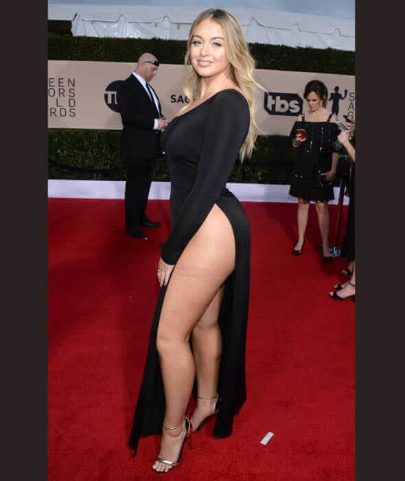Iskra lawrence hot thighs